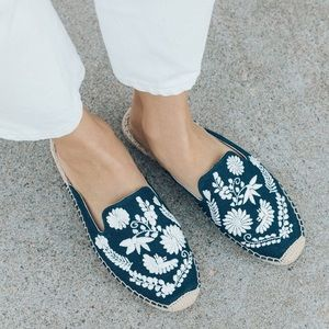 Soludos Ibiza Embroidered Slip Ons